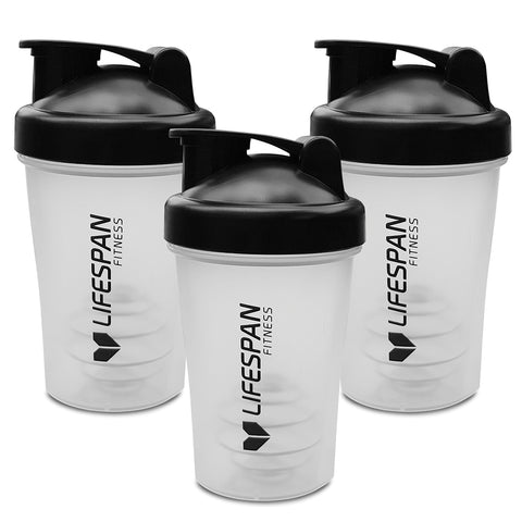 Lifespan Fitness Shaker Bottle 3 Pack