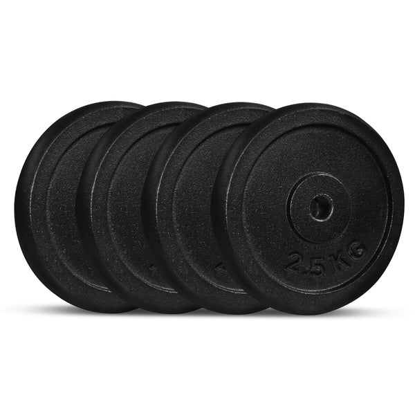 CORTEX Cast Iron Weight Plate 2.5kg (4 Pack)