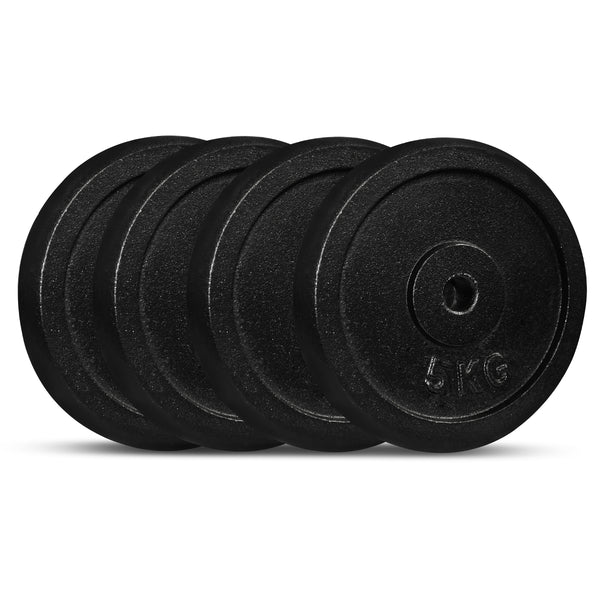 CORTEX Cast Iron Weight Plate 5kg (4 Pack)
