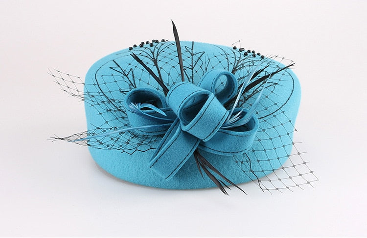 Nimble Peacock – Women's Derby Hat - DerbyHats.com