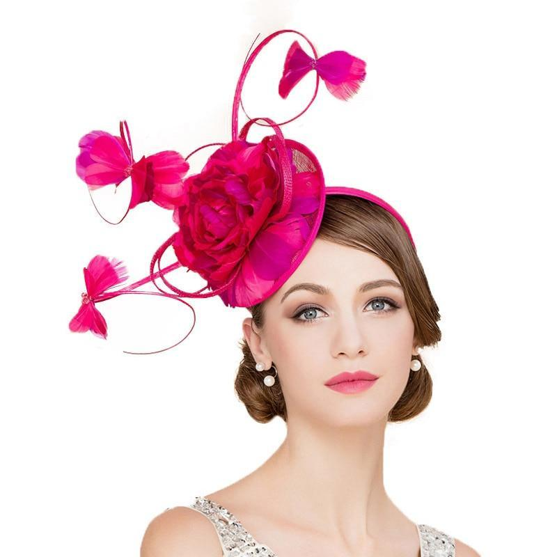 Butterfly Rose – Women's Derby Hat - DerbyHats.com