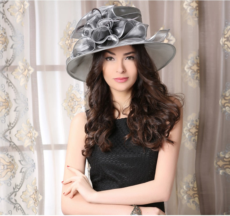 Flowing Frills – Women's Derby Hat - DerbyHats.com