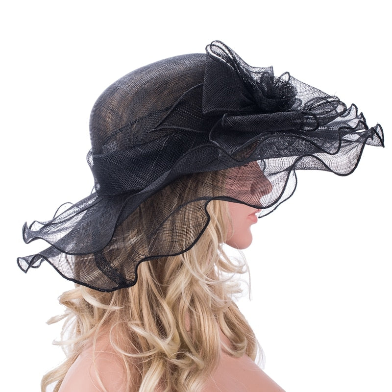 Sleek Shadows – Women's Derby Hat - DerbyHats.com