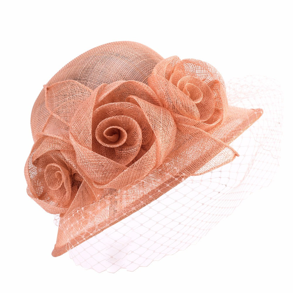 Rose Party – Women's Derby Hat - DerbyHats.com
