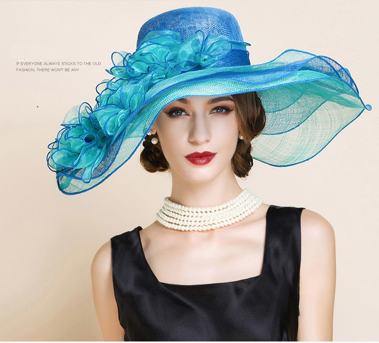 Ocean Waves – Women's Derby Hat - DerbyHats.com