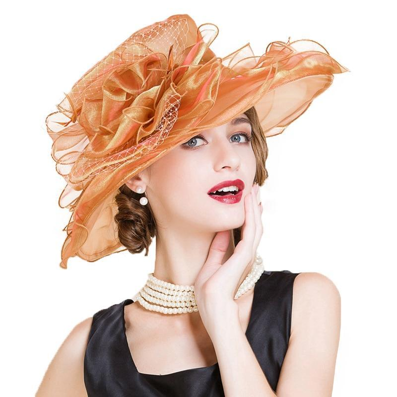 Crescent Sunset – Women's Derby Hat - DerbyHats.com