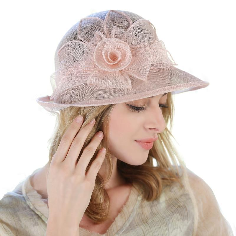 Tightknit Rose – Women's Derby Hat - DerbyHats.com