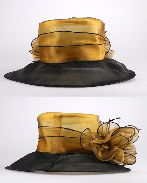 Tiger's Eye – Women's Derby Hat - DerbyHats.com
