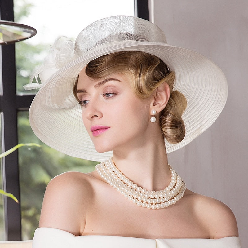 Angel's Halo – Women's Derby Hat - DerbyHats.com
