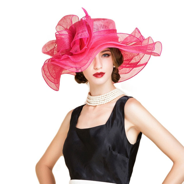 Galapagos Shout – Women's Derby Hat - DerbyHats.com