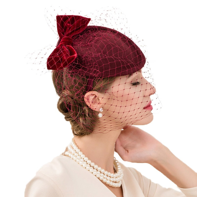 Maroon Thrive – Women's Derby Hat - DerbyHats.com