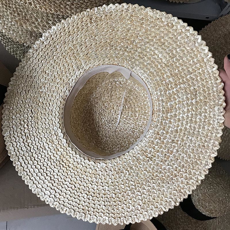 Flat Top Wheat Straw – Women's Derby Hat - DerbyHats.com
