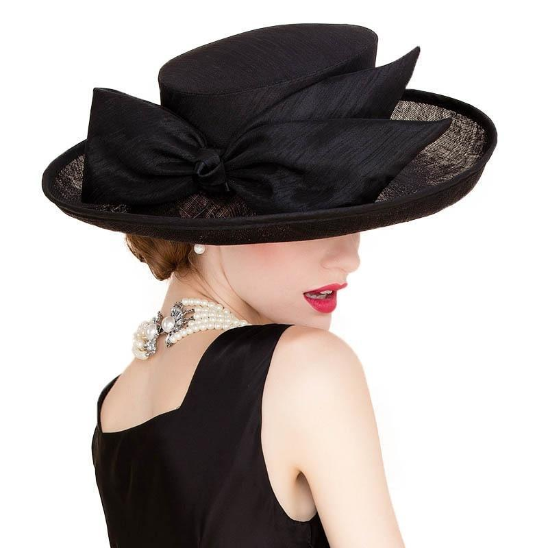 Black Tie Wedding – Women's Derby Hat - DerbyHats.com