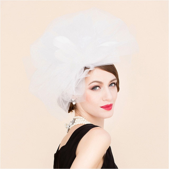 White Snow – Women's Derby Hat - DerbyHats.com