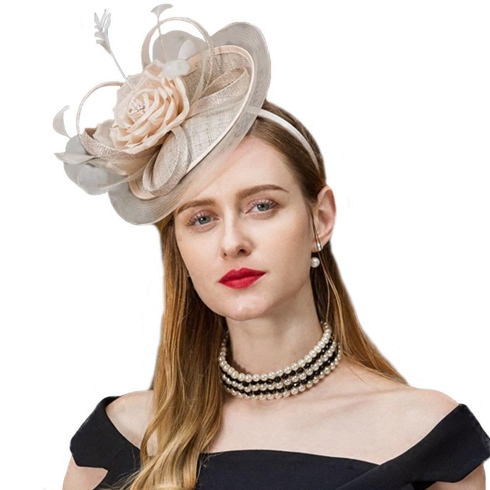Pink Rose – Women's Derby Hat - DerbyHats.com