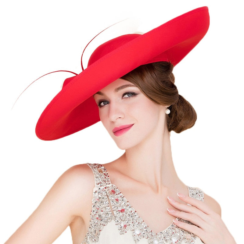 Royal Wedding – Women's Derby Hat - DerbyHats.com