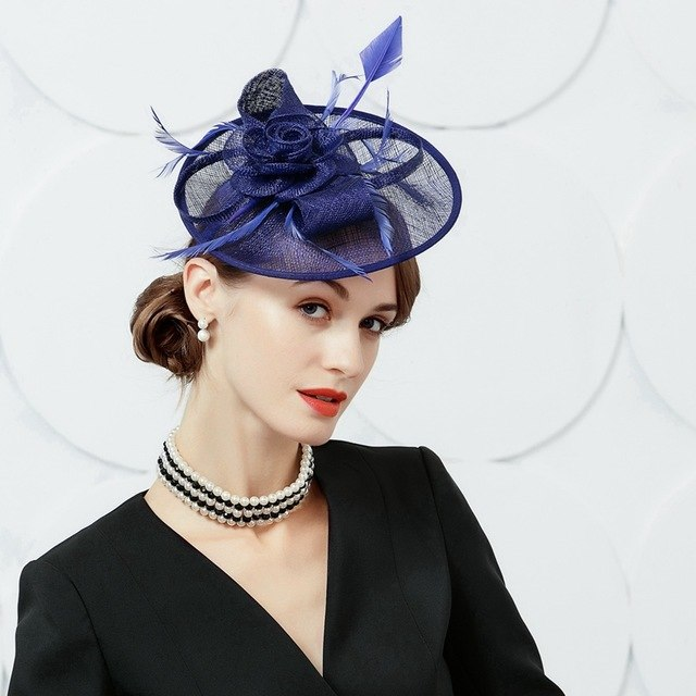 Blue Bird – Women's Derby Hat - DerbyHats.com