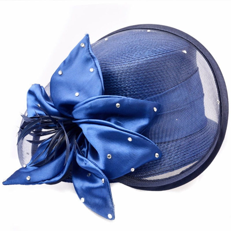 Blueberry Spectacle – Women's Derby Hat - DerbyHats.com