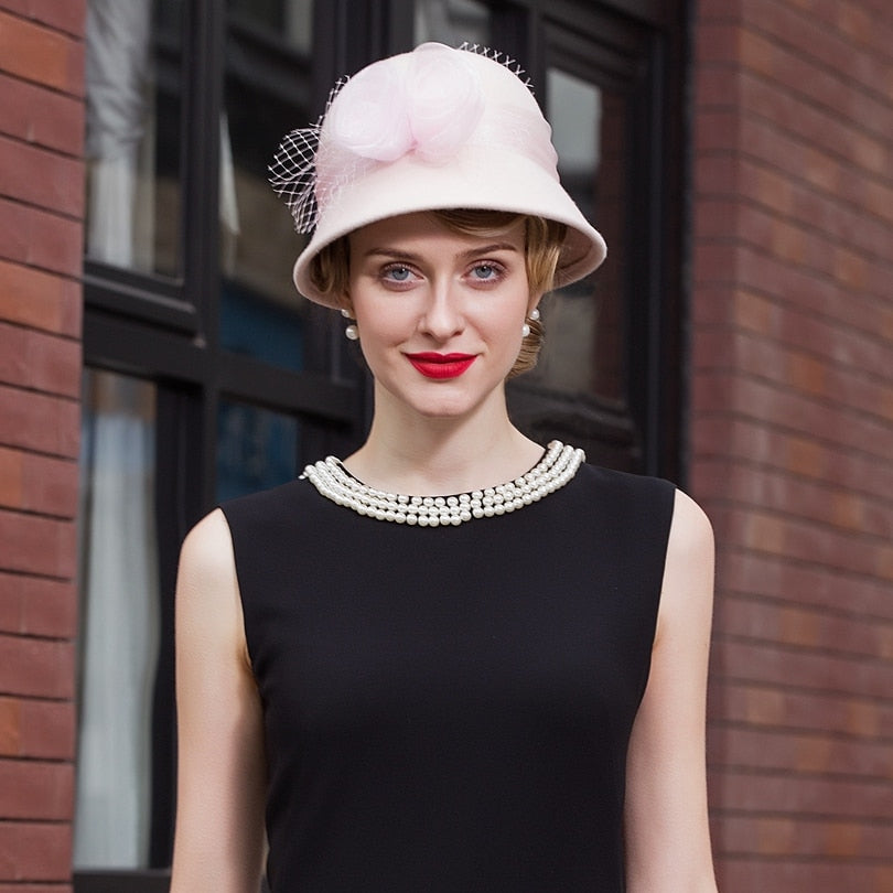 Sleek Chic – Women's Derby Hat - DerbyHats.com