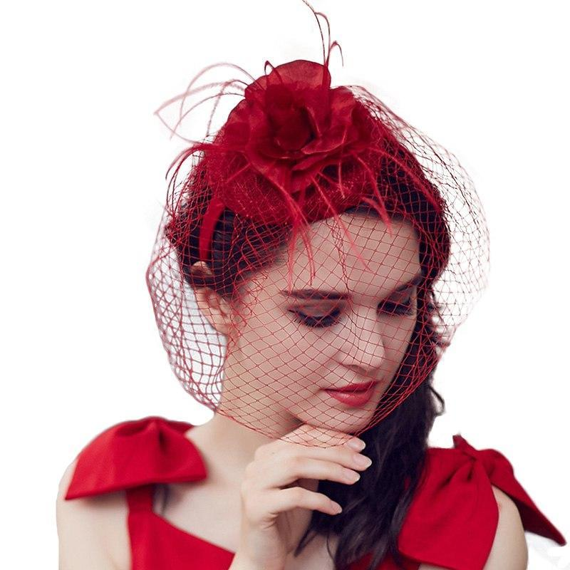 Veiled Heart – Women's Derby Hat - DerbyHats.com