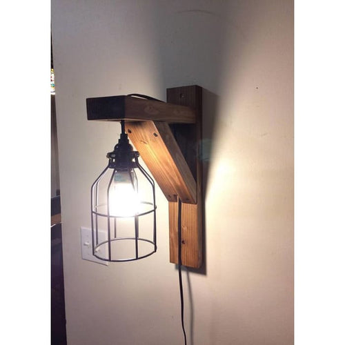 Rustic Corbel Light Sconce