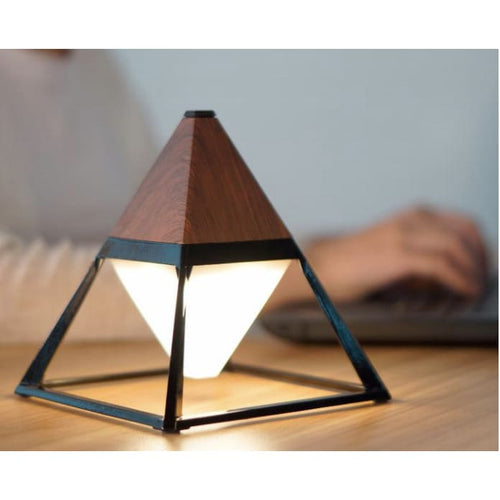 Wireless Pyramid Table Light