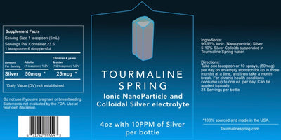 Ionic Colloidal NanoParticle-Silver Electrolyte