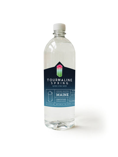 1 case of Tourmaline Spring water (12 One Liter bottles)