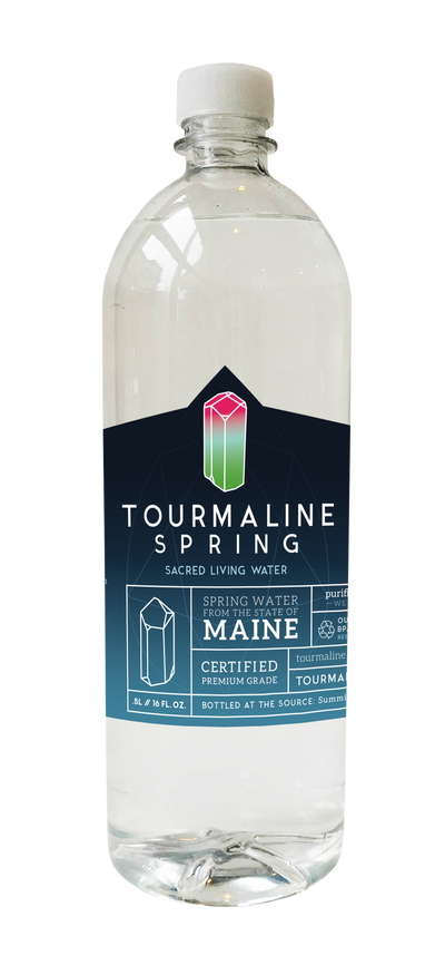 1 case of Tourmaline Spring water (24 Half Liter bottles)