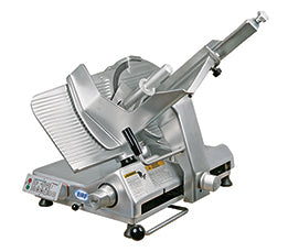 "Biro B350A 13.75"" Semi-Automatic Gravity Feed Meat Slicer - 1/2 hp"