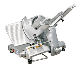 "Biro B350M 13.75"" Manual Gravity Feed Meat Slicer - 1/2 hp"