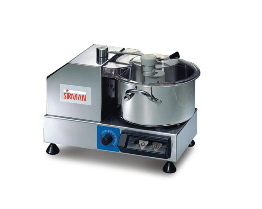 Sirman C4 VV 4 Quart Variable Speed Cutter/Mixer With Removable Bowl