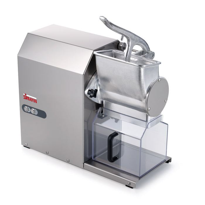 Sirman GF HP 2-220 Electric Gear Driven Hard Cheese Grater - 2 HP