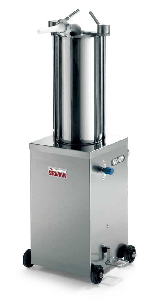 Sirman IS 15 IDRA 32 lb Capacity 3/4 HP Vertical Hydraulic Sausage Stuffer