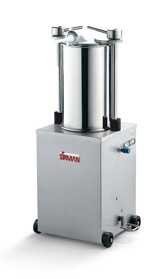 Sirman IS 25 IDRA 55 lb Capacity 3/4 HP Vertical Hydraulic Sausage Stuffer