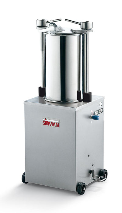 Sirman IS 35 IDRA 75 lb Capacity 3/4 HP Vertical Hydraulic Sausage Stuffer