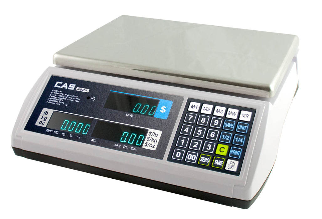 CAS S-2000-JR Price Computing / Deli Scale - Legal for Trade