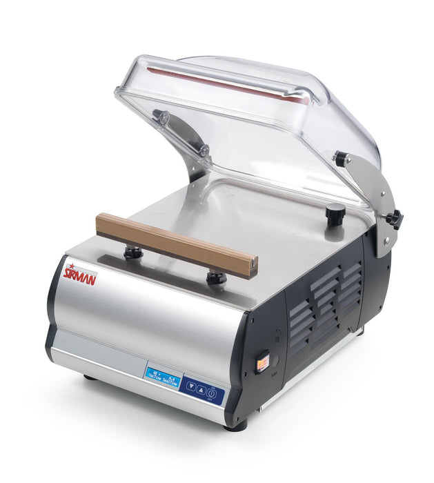 "Sirman W8 50 DX S+G Single Chamber Countertop Vacuum Sealer w/ 20"" Seal Bar"