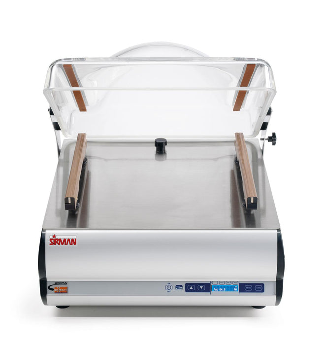 "Sirman W8 50 DX DB Countertop Vacuum Sealer w/(2) 16"" Seal Bars"