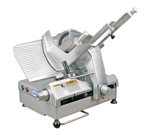 "Biro B350 Comfort 13.75"" Semi-Automatic Gravity Feed Meat Slicer - 1/2 hp"