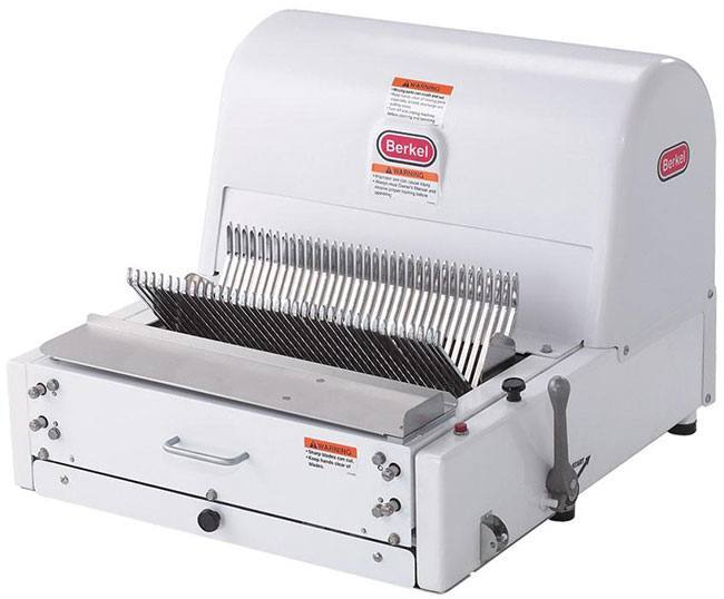 "Berkel MB 3/8"" Countertop Bread Slicer"