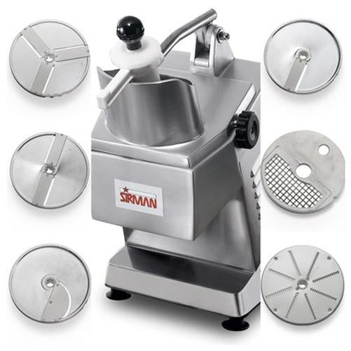 Sirman TM A6 Continuous Feed Operation Electric Food Processor 3/4 HP