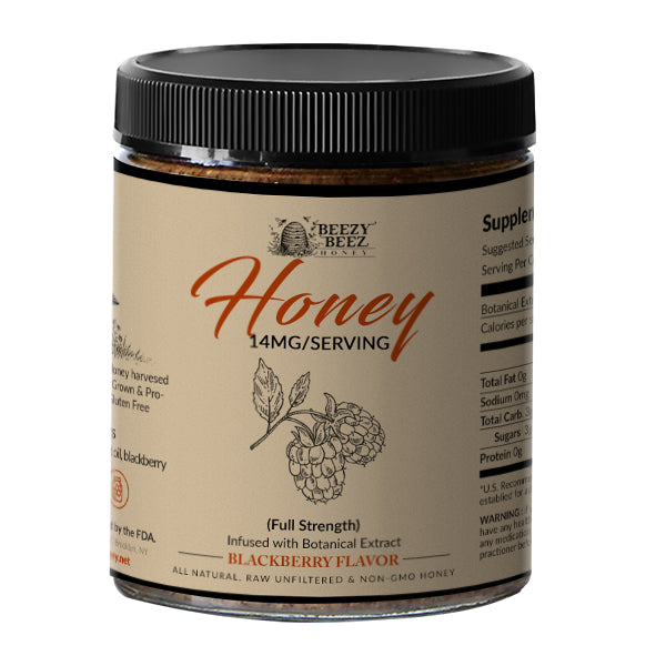 Blackberry Flavored Botanical Extract Honey