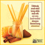 Honey Sticks Infused with Botanical Extract
