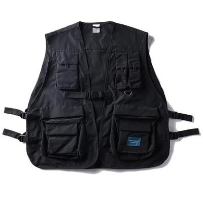 Techwear tactical military vest streetwear style