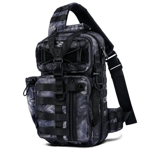 Military tactical shoulder bag archer backpack diagonal cross hunting bag male army backpack 600D nylon hiking sports bag