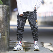 Mens Pants Streetwear Joggers Hip Hop Sweatpants Tactical Cargo Pants Men Track Camouflage Reflective Pantalones