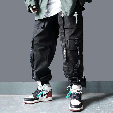 Camouflage Pants Men Fashion Streetwear Cargo Pant Joggers Hip Hop Casual Trousers Male Dancing Pant Camo