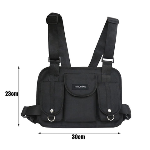 Dark Chest Rig Waist Pack