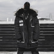 UNSETTLE REFLECTIVE PARKA
